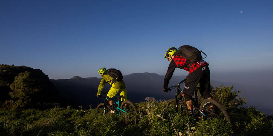 Mountain bike en El Hierro